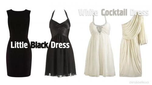 Abitino nero e bianco