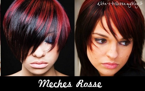 Pleasing Black And Red Hairstyles Hairstyle Inspiration Daily Dogsangcom